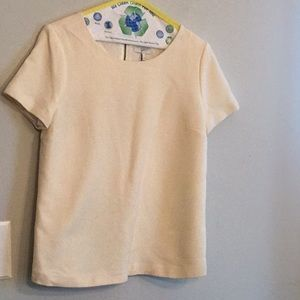 Joie size med wool lined top with zipper back